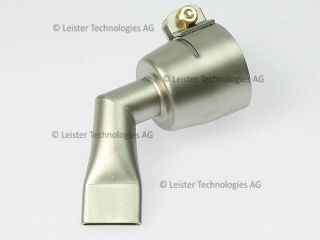 Leister 20mm 60 degree angled inverted wide slot nozzle 105.503