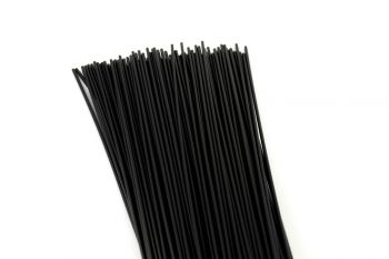 Plastic Welding Rod ABS 3mm Round Black 1kg in 1m sticks