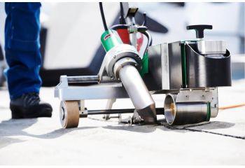 Leister BITUMAT B2 Welding Machine 75mm/100mm 230v 32A modified bitumen roof welding shot 1