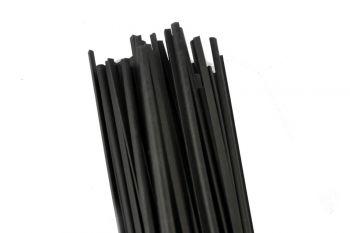 Welding Rod PA (Polyamide) 5.7mm Triangular Black 1kg in 1m Sticks