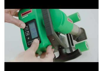 Leister UNIDRIVE 500 Semi-automatic Roofing Heat Gun Welder 163.148 reversible motor & reversible / rotating nozzle