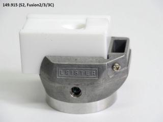 145.915 Leister 8-10mm V-Seam Welding Shoe for WELDPLAST S2, FUSION 2/3/3C