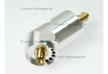 Leister Angle Adapter 45° 139.460 for WELDPLAST S2 Extruders