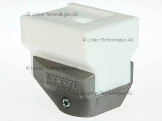 Leister 35mm Overlap Welding Shoe 146.242 for WELDPLAST S2 PVC/S4/S6