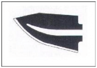 T08/120 (GG) 120mm Blade 70324 for ZTS24 Hot Knife Thermocutters