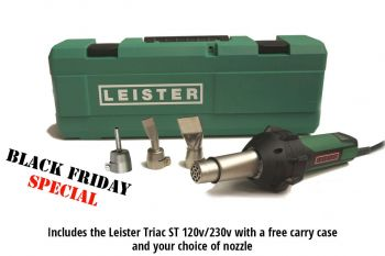 Leister TRIAC ST Kit - Black Friday offer