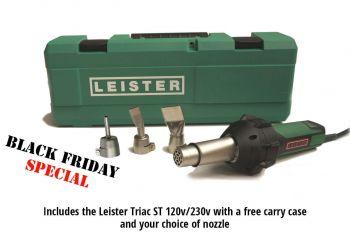 Leister TRIAC ST Kit - Black Friday offer