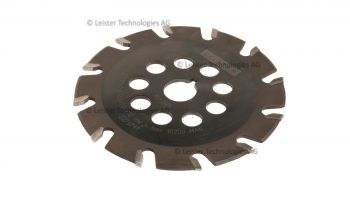 Leister 130 x 2.8mm T12 Tungsten Carbide Tipped Groover Blade Parabolic Profile 167.025 for GROOVER 500-LP