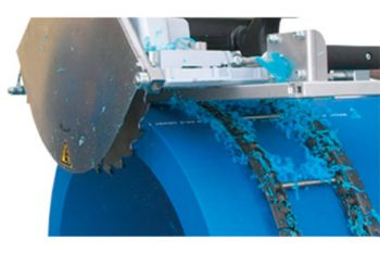 WIDOS Guide Chains for Motorised Pipe Cutting Circular Saws