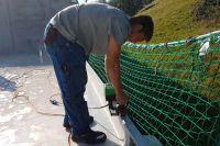 Leister UNIDRIVE 500 Semi-automatic Roofing Heat Gun Welder 163.148 parapet welding