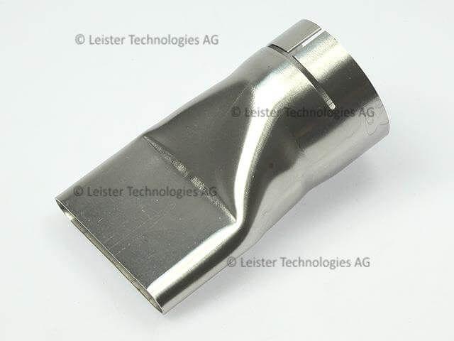 Leister 70 x 10mm Wide slot nozzle for bitumen 107.258 - suitable for ELECTRON & ELECTRON ST hot air guns