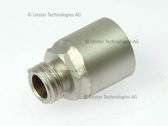 Leister Connection adapter M14 for 21.3mm dia nozzle with plug 141.375