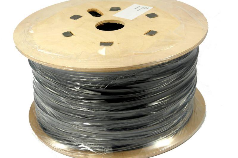 Plastic Welding Rod DOWLEX LLDPE 5mm Round Black 5kg Drum DOWLLDPE5B