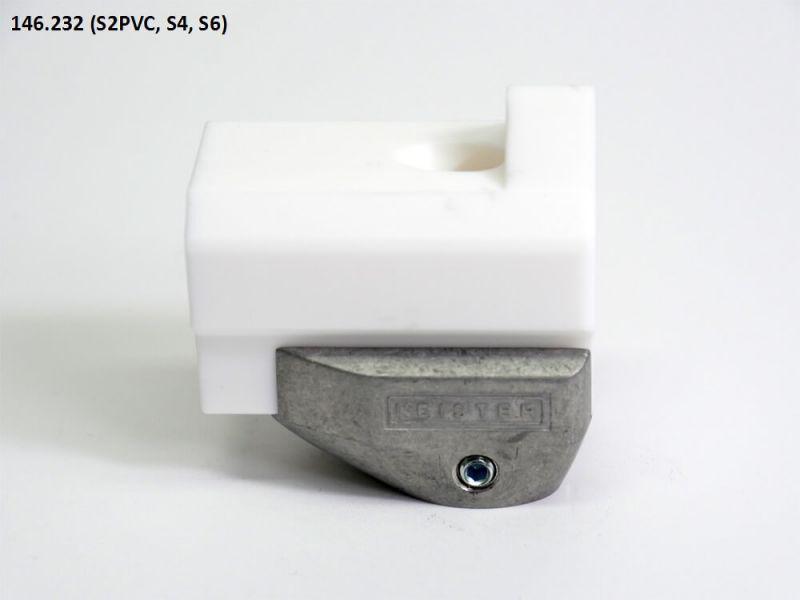 Leister 20mm Fillet Weld Welding Shoe 146.232 for WELDPLAST S2 PVC, WELDPLAST S4, WELDPLAST S6
