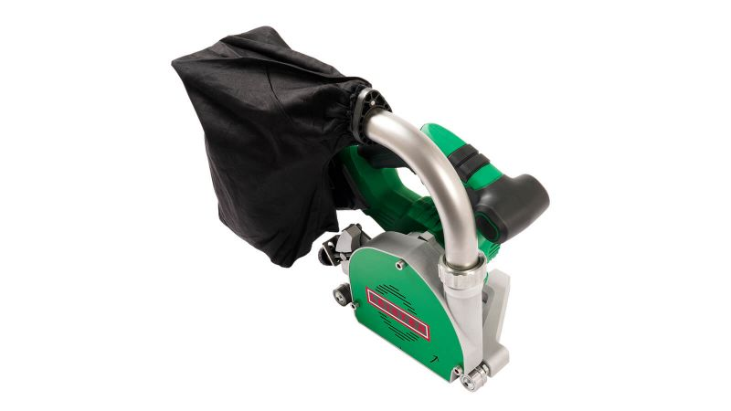 Leister GROOVER 500-LP 167.451 battery powered with 3.5mm Parabolic TCT Blade for Vinyl Floor Welding (Main2)