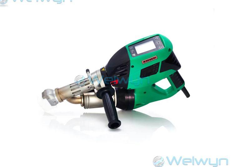 Leister WELDPLAST S2 230v for Plastic Welding 127.215 PW (side)