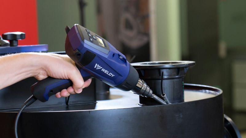 WELDY HG 530-A 230V 2000W Digital Hot Air Gun 131.325 in carton with accessories - plastic welding
