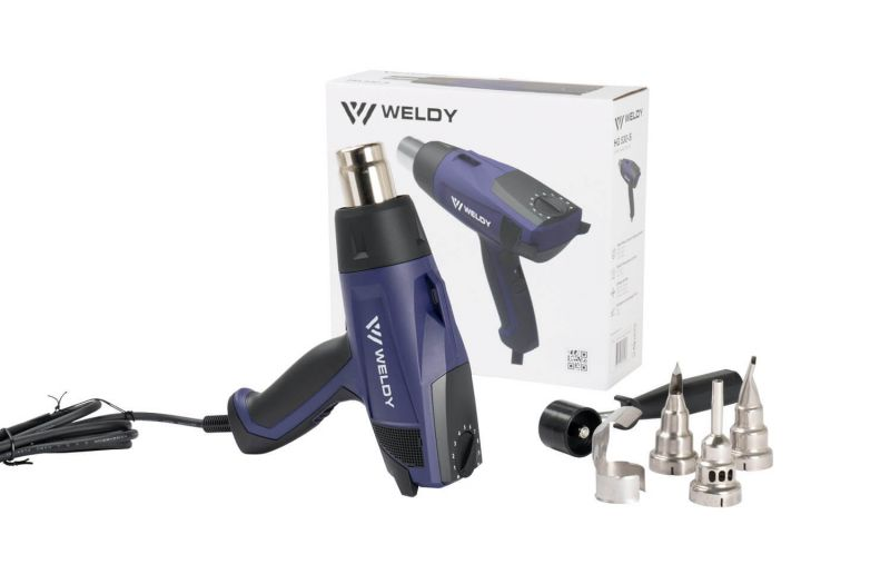 WELDY HG 530-S 230V 2000W 131.324 in carton with accessories - main image 1
