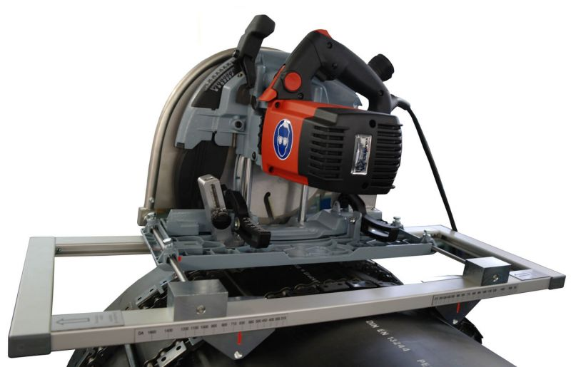 WIDOS Motorised Chain Driven Plastic Pipe Cutting Circular Saws Type 1 & Type 35